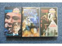 9 DOCTOR WHO VHS Cassettes