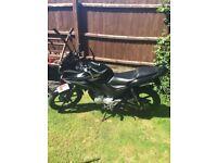 Honda CBF 125cc for sale.