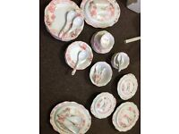 Tulip melamine dinner set