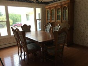 Solid Pine 11-piece dining room suite
