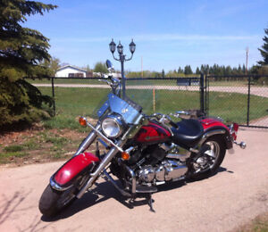 Yamaha VStar 650. Cheap and reliable. in very good condition.