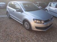 Volkswagen Polo 1.2 S 5dr (a/c) FREE 1 YEAR WARRANTY, NEW MOT, CHEAP INSURANCE, GREAT RUNNING COST