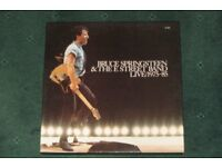 BRUCE SPRINGSTEEN LIVE 1975-85. 5 DISC VINYL LP BOX SET