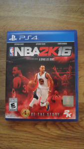NBA 2K16 for the PS4