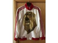 Limited edition England Adidas track suit top