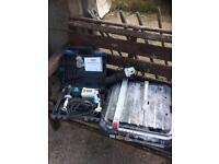 Sds drill cheisel, grinder and tile cutter