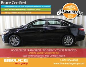 2016 Toyota Camry SE 2.5L 4 CYL AUTOMATIC FWD 4D SEDAN BACK-UP C