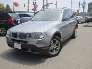 2007 BMW X3 3.0i | Leather • Panoramic Roof • AWD