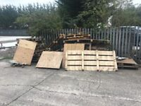 FREE WOOD - Old pallets ideal for firewood (F.O.C)
