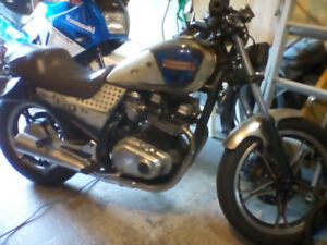 Suzuki 650 twin .in working order .