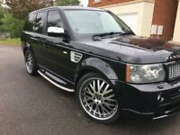 Range Rover sports with full hst body kit