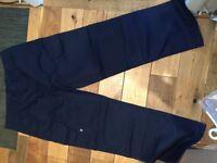 Men's Brand New Navy Work trousers