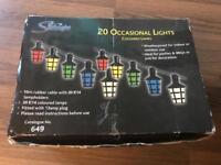Stirbright 20 weatherproof lights £10