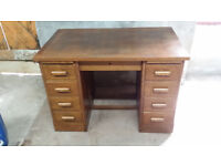 Old Style Wooden Desk