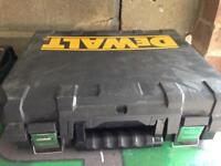Dewalt 18v set box only