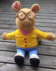 """18"""" Arthur Talking Plush 1996 Hasbro"""