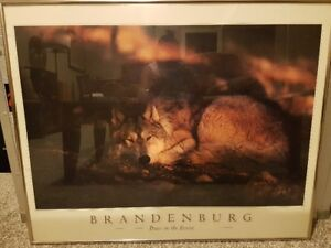 Brandenburg Peace in the Forest print framed