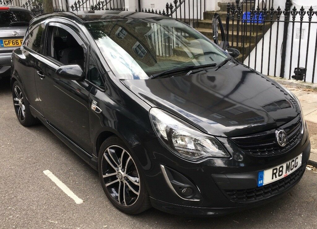 vauxhall corsa black edition 1 4 turbo 2014 must sell today in islington london gumtree. Black Bedroom Furniture Sets. Home Design Ideas