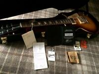 Gibson Custom Shop Les Paul 1960 vos historic re-issue faded tobacco