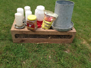 Chicken Nesting boxes and Supplies