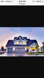 Looking for a 3-4 bedroom house or apptment