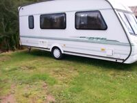 abbey vogue gts 4 berth end dressing shower room immaculate condition