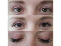 Eyelash extensions - Long & full having people question did she or didn't she