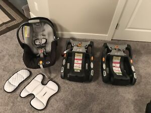 Chicco KeyFit 30 Infant Car Seat with Extra Base