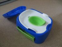Potty & Stool In One