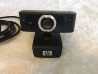 Hewlett Packard Deluxe Webcam - KQ246AA - USB - Black