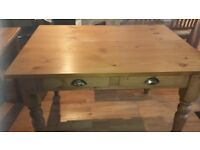Antique Pine Style Kitchen Table