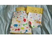Mothercare toddler bed set duvet cover etc vgc