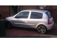Renult clio 06 plate 1.2l 16v ,alloy wheels