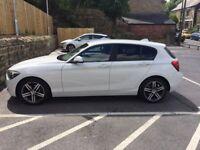 BMW 1 Series 118d Sport in White