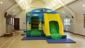 Airquee bouncy castle combo slide