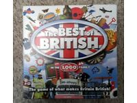 LOGO BEST OF BRITISH - BOARD GAME - CAN POST