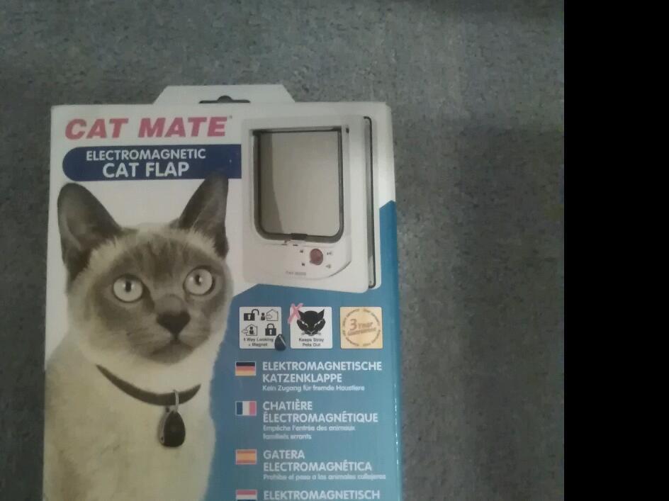 NEW CAT FLAP