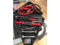Tool kit including jump cables