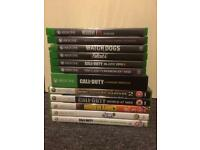 Xbox one/360 games for sale