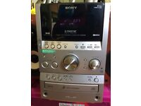 Sony Hi-Fi stereo with DAB radio and MP3 in good working order