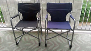 2 Folding chairs - great condition