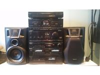 AMAZING Technics full stack stereo system with turntable. Can deliver