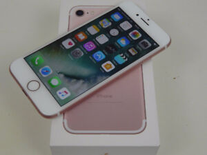 Iphone 7 Rose Gold - 32GB - Like New in Box