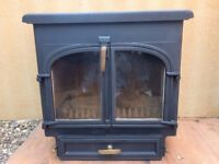 Multi fuel - wood burning stove Clearview 650 in very good condition