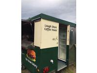 Food trailer, burger van, chip van