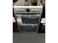Beko silver double oven. RRP £449. 12 month gtee