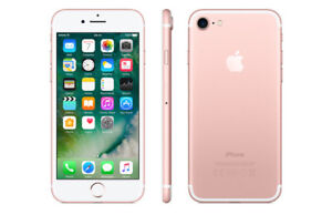 NEW Rose Gold iPHONE7 ( big discount because of crack on screen)