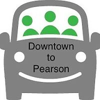 Looking to share a daily ride to work (downtown to Pearson area)
