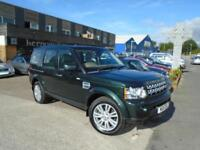2011 (11) LAND ROVER DISCOVERY 4 3.0SD HSE AUTOMATIC Leather 7 Seater Nav FSH