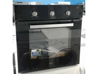 O294 black whirlpool single integrated electric oven new with manufacturers warranty